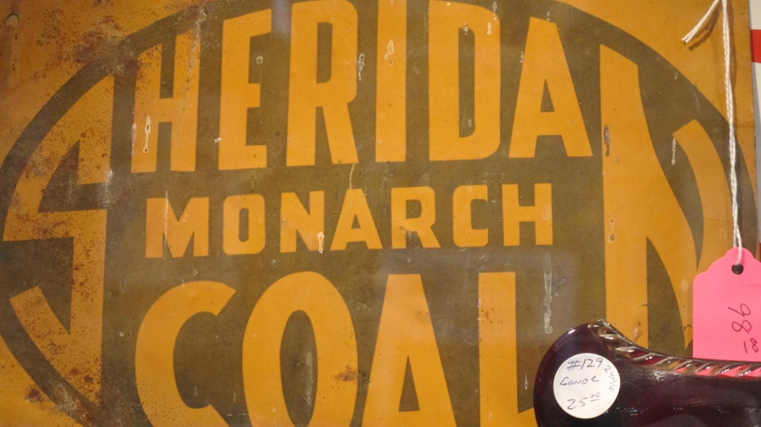 Sheridan Coal Mining Signs