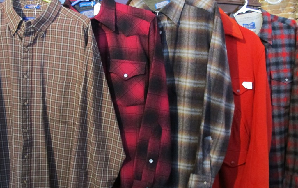 Pendelton and Woolwich Shirts, Coats, and Pants