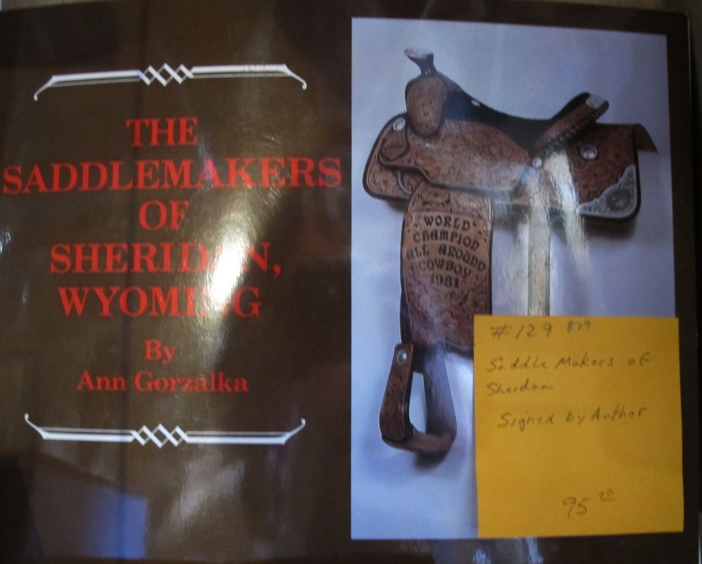 Saddlemakers of Sheridan Book
